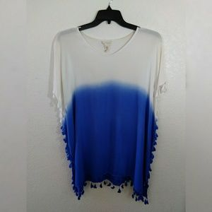 Other - Ombre Poncho/ Cover up